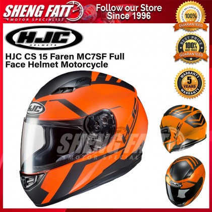 HJC CS 15 Faren MC7SF Full Face Helmet Motorcycle