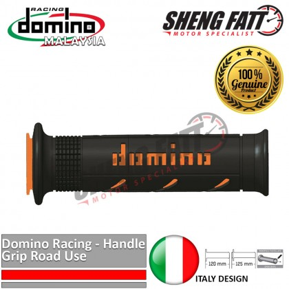 "Domino Universal Handle Bar 7/8"" Motorcycle XM2 Double SuperSoft Throttle Grips MotoGP handlebar Orange [ORIGINAL]"