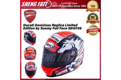 Ducati Dovizioso Replica Limited Edition by Suomy Full Face 98104709 Helmet Motorcycle - [ORIGINAL]