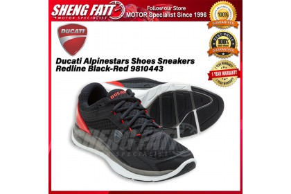 Ducati Alpinestars Shoes Sneakers Redline Black-Red 9810443 - [ORIGINAL]