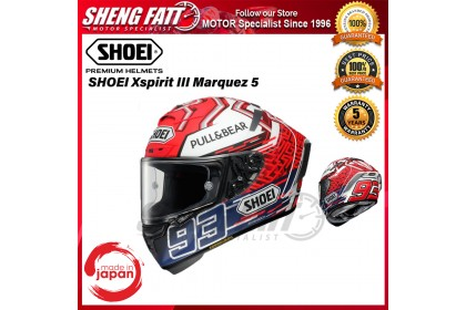 SHOEI XSPIRIT 3 MARQUEZ 5 TC1 - FULL FACE HELMET [ORIGINAL]