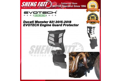 Ducati Monster 821 2015-2018 EVOTECH Engine Guard Protector