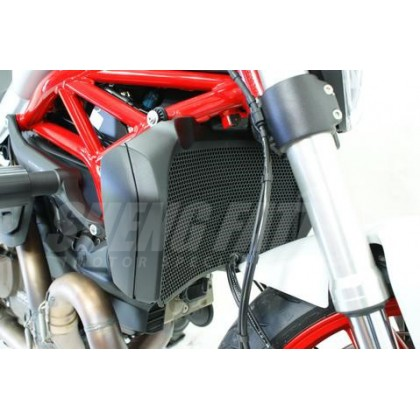 Ducati Monster 821 (2015-2018) EVOTECH Engine Guard Protector + Radiator Guard Combo