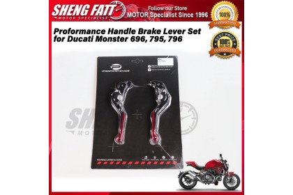 Proformance Adjustable Folding Extendable Brake Clutch Levers for Ducati Monster 696, 795, 796