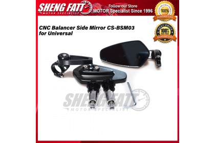 CNC Balancer Side Mirror CS-BSM03 for Universal Motorcycle