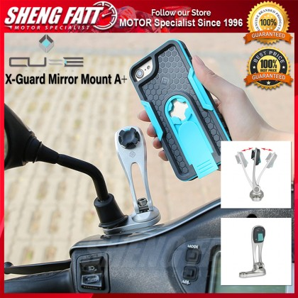 Cube X-Guard Mirror Mount A+ for Universal Motorcycle Phone Holder