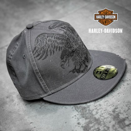 Harley-Davidson® Men's Oversized Eagle 59FIFTY Cap 97800-19VM