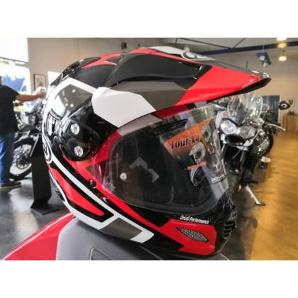 Arai XD-4 Catch TOUR-X4 Red Full Face Helmet Motorcycle
