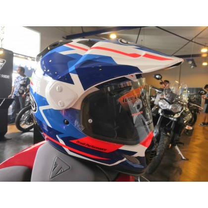 Arai XD-4 Tour-X4 Depart Blue Helmet Full Face